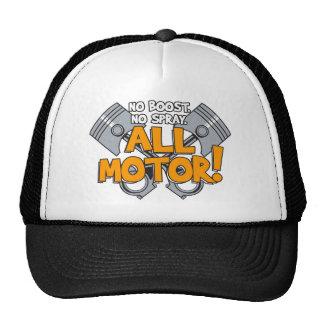 All Motor Design Trucker Hat