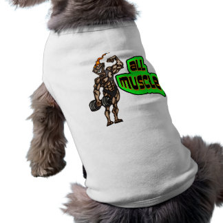 All Muscle Dog Tee Shirt