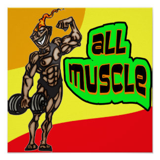 All Muscle Print