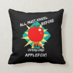 All must kneel before overlord applefox pillow