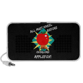 All must kneel before overlord applefox iPhone speaker
