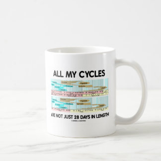 All My Cycles Are Not Just 28 Days In Length Mug