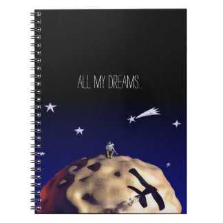 """All my Dreams THE LITTLE PRINCE after """"Le Petit P Spiral Notebook"""