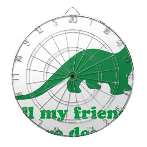 All My Friends Dartboard