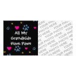 All My Grandkids-Grandchildren Have Paws Card