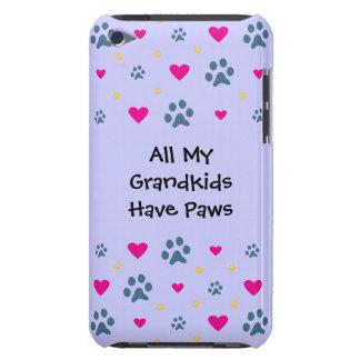 All My Grandkids-Grandchildren Have Paws iPod Touch Case-Mate Case