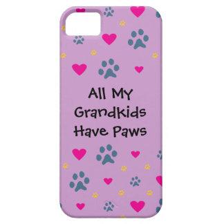 All My Grandkids-Grandchildren Have Paws iPhone 5 Case