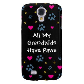 All My Grandkids-Grandchildren Have Paws Samsung Galaxy S4 Covers