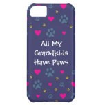 All My Grandkids-Grandchildren Have Paws Case For iPhone 5C