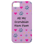 All My Grandkids-Grandchildren Have Paws iPhone SE/5/5s Case