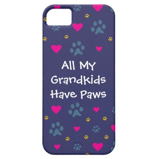 All My Grandkids-Grandchildren Have Paws iPhone SE/5/5s Case