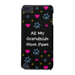All My Grandkids-Grandchildren Have Paws iPod Touch 5G Case