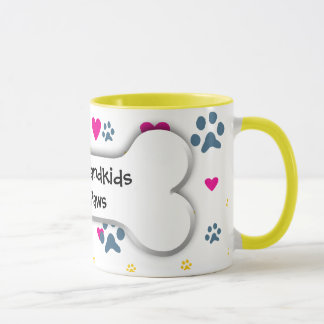 All My Grandkids-Grandchildren Have Paws Mug