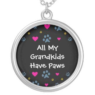 All My Grandkids-Grandchildren Have Paws Custom Jewelry