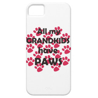 All My Grandkids Have Paws iPhone 5 Cases