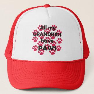 All My Grandkids Have Paws Trucker Hat