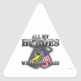All My Heroes Wear Dog Tags