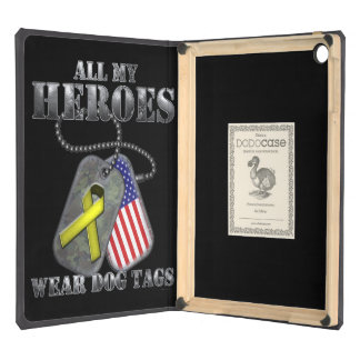 All My Heroes Wear Dog Tags iPad Air Case