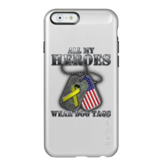 All My Heroes Wear Dog Tags Incipio Feather® Shine iPhone 6 Case