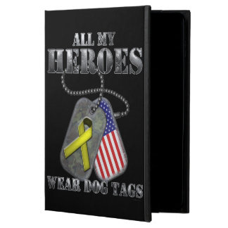 All My Heroes Wear Dog Tags Powis iPad Air 2 Case