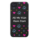 All My Kids-Children Have Paws iPhone 4 Cover