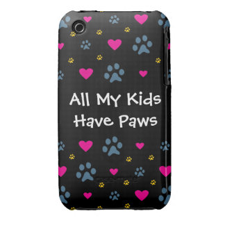 All My Kids-Children Have Paws iPhone 3 Cover
