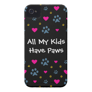 All My Kids-Children Have Paws iPhone 4 Case