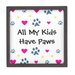 All My Kids-Children Have Paws Jewelry Box