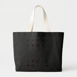 All My Kids-Children Have Paws Large Tote Bag