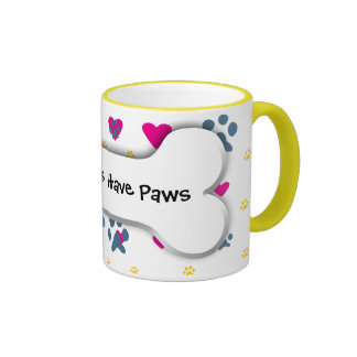 All My Kids-Children Have Paws Mugs
