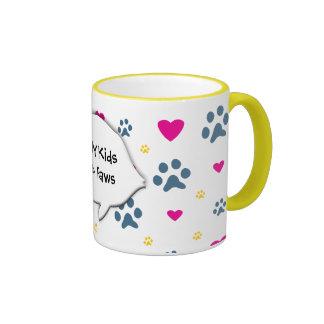 All My Kids-Children Have Paws Coffee Mug