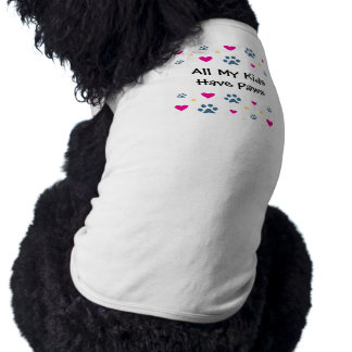 All My Kids-Children Have Paws Tee