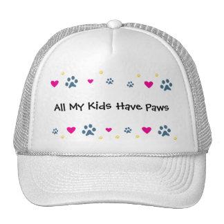 All My Kids-Children Have Paws Trucker Hat