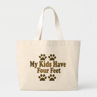 All my Kids Have Four Feet Canvas Bag