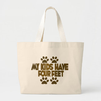 All my Kids Have Four Feet Tote Bag