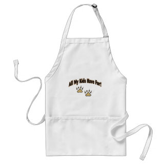 All My Kids Have Fur Adult Apron
