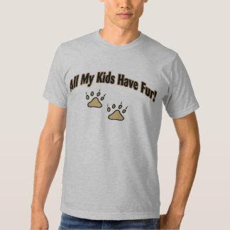 All My Kids Have Fur Tee Shirt