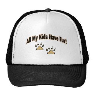 All My Kids Have Fur Trucker Hat
