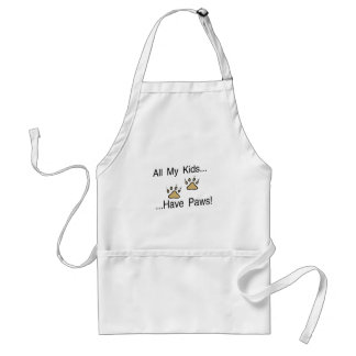 All My Kids Have Paws Adult Apron