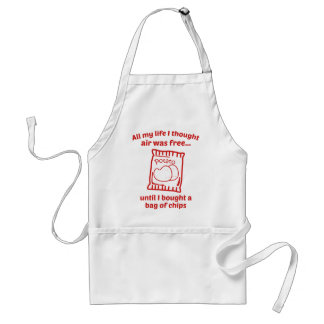 All My Life I Thought Air Was Free Aprons