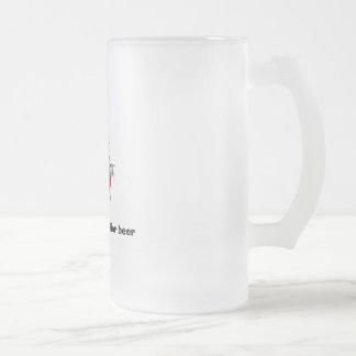 """""""All my recipes call for beer"""" beer mug"""