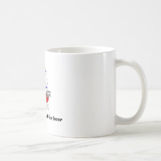 """""""All my recipes call for beer"""" mug"""