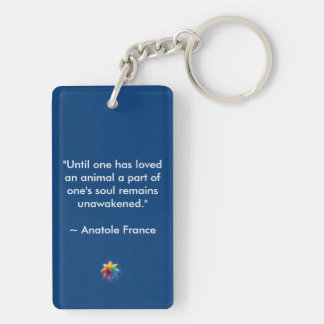 All My Relations Animal Love Keychain