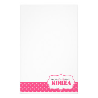 All my X's and O's are in Korea Stationery