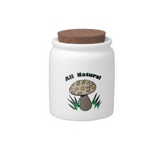 All Natural Candy Jar