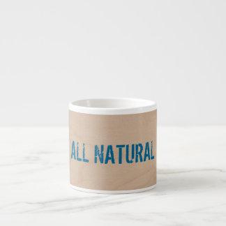 All natural expresso mug