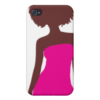 All Natural Girl Afro I phone 4 case