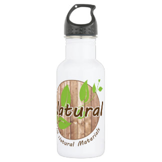 All Natural Materials Water Bottle