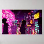 All Neon Like Print
