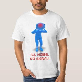 ALL NOISE, NO SIGNAL: 3D FIGURE T-Shirt